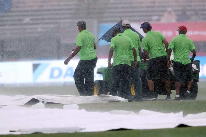 2nd T20I: Rain Spoils India