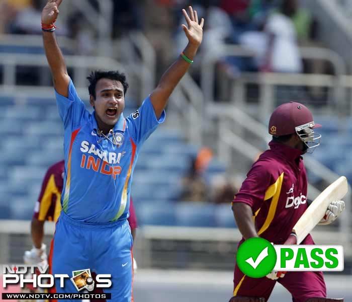 Team India's Caribbean Report Card