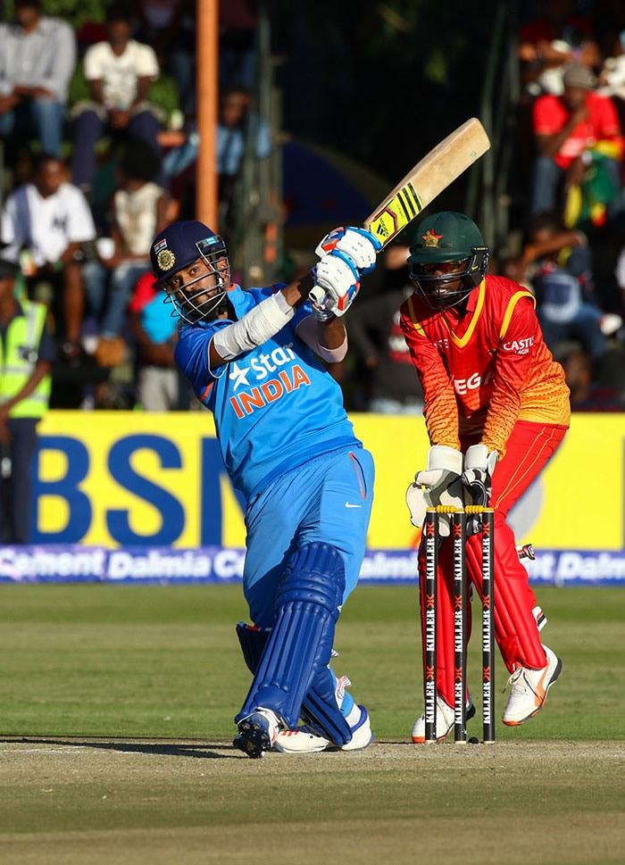 डेब्यू मैच में शतक जड़ राहुल ने दिलाई टीम इंडिया को बढ़त