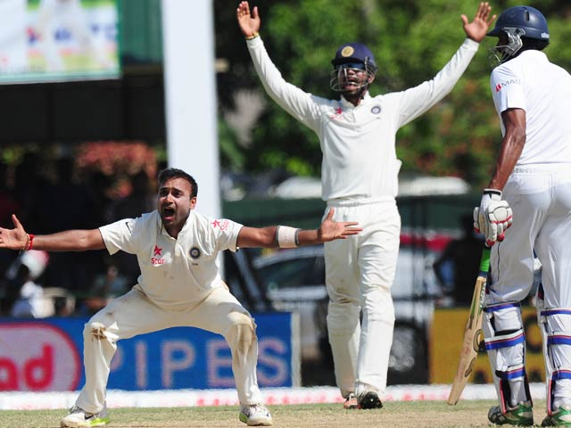 India Take Charge of Colombo Test After Amit Mishra Heroics