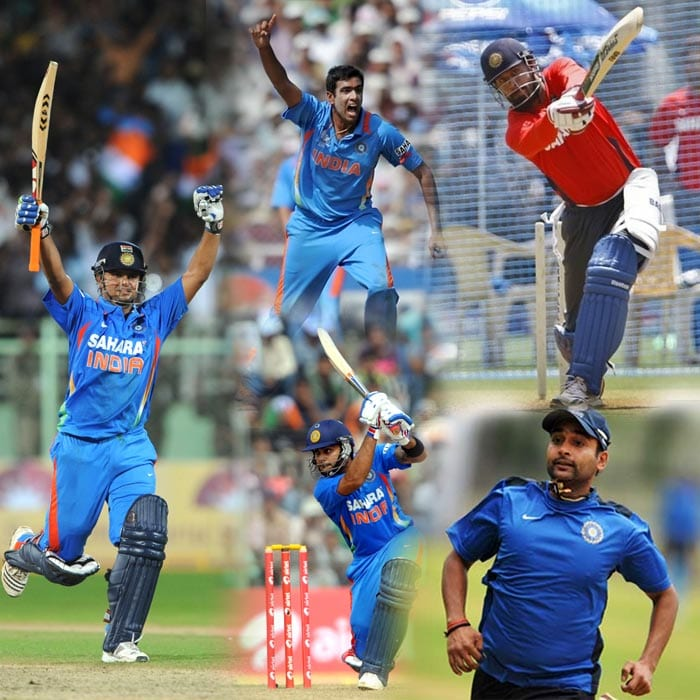 India's young guns against West Indies