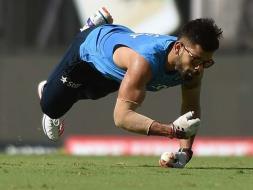 Photo : World T20: India Train Hard Before Opener vs Kiwis