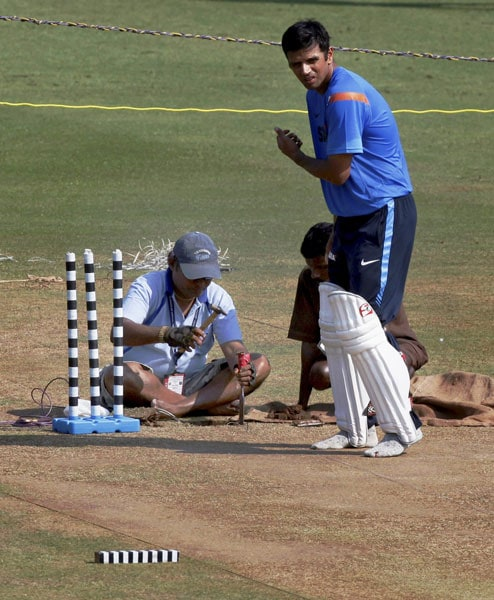 India warm up for 3rd Test