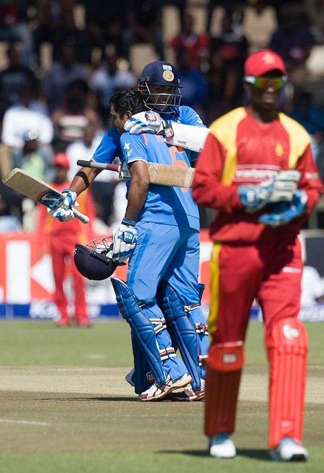 Ambati Rayudu Shines in Indias Narrow Win v Zimbabwe