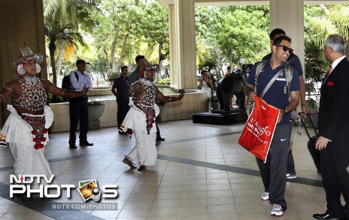 Indian team arrives in Sri Lanka