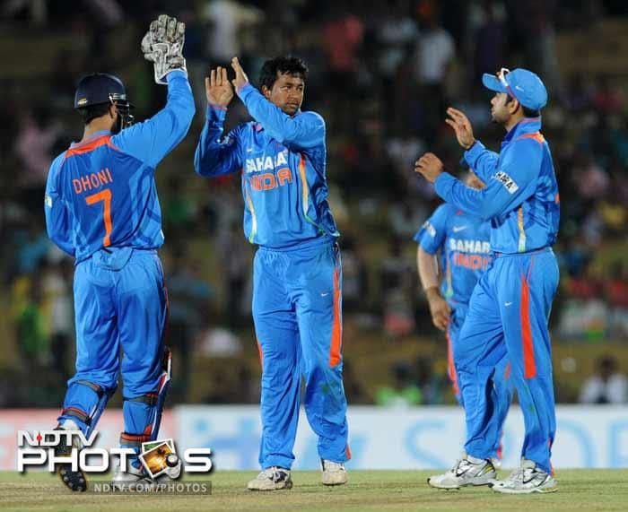India beat Sri Lanka by 21 runs in the first ODI