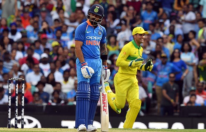 India Lose Series Opener Against Australia By 34 Runs