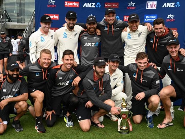 Photo : दूसरा टेस्ट: न्यूज़ीलैंड सात विकेट से जीता, सीरीज़ पर किया 2-0 से कब्ज़ा