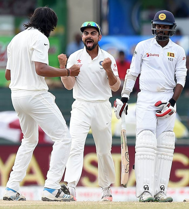 3rd Test: India on Verge of Historic Series Win as Sri Lanka Crumble in Record Chase