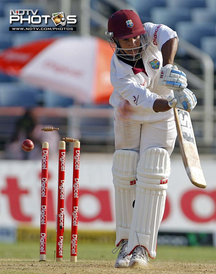 1st Test: West Indies vs India (Day 3)