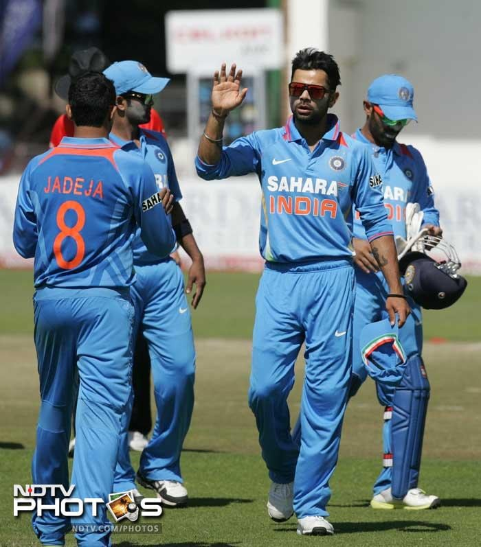 3rd ODI: India hammer Zimbabwe by 7 wickets to clinch series