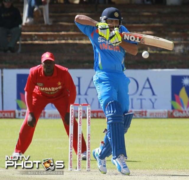 India sweep Zimbabwe series 5-0
