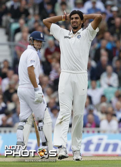 Ishant Sharma: Ankle injury
