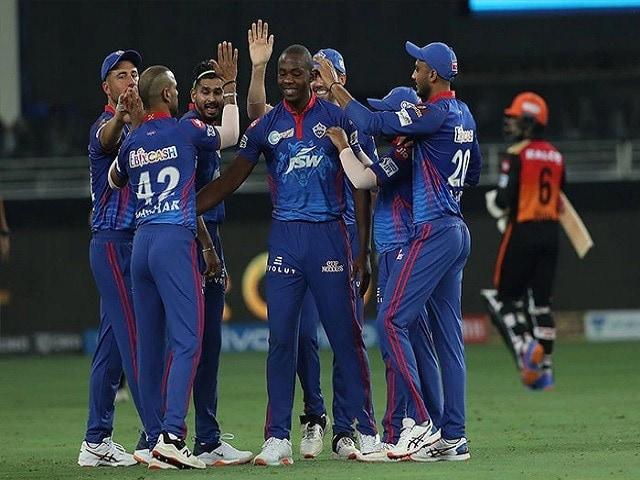 Photo : IPL 2021: दिल्ली कैपिटल्स ने सनराइजर्स हैदराबाद को 8 विकेट से हराकर जीता मैच