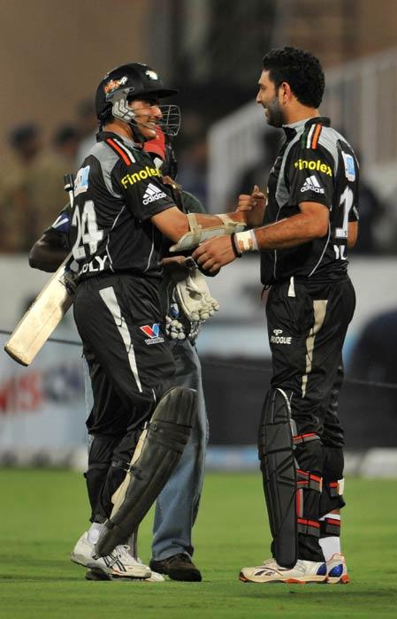 IPL 4: Pune vs Deccan