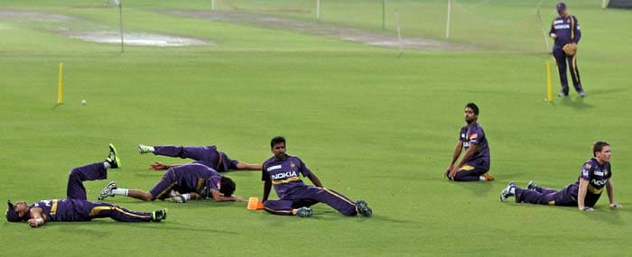 IPL 6: Look at what players have been up to