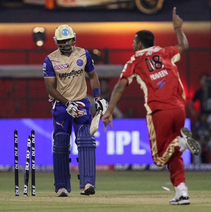 IPL 3: Bangalore vs Rajasthan