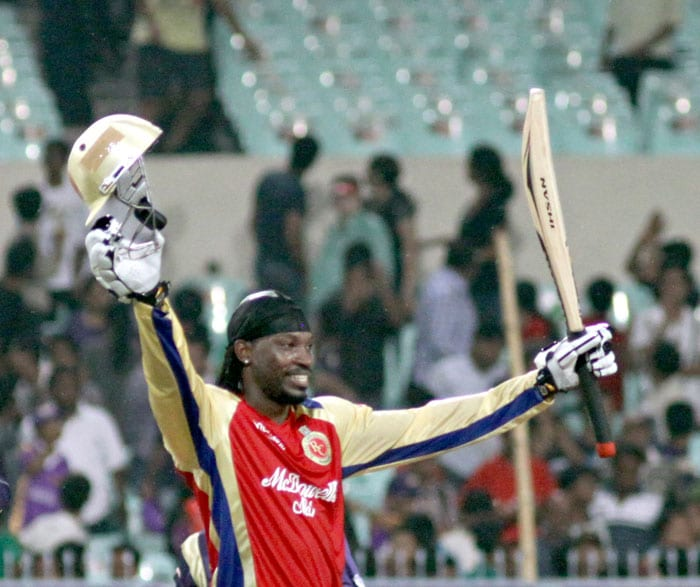 Chris Gayle:  Caribbean hurricane
