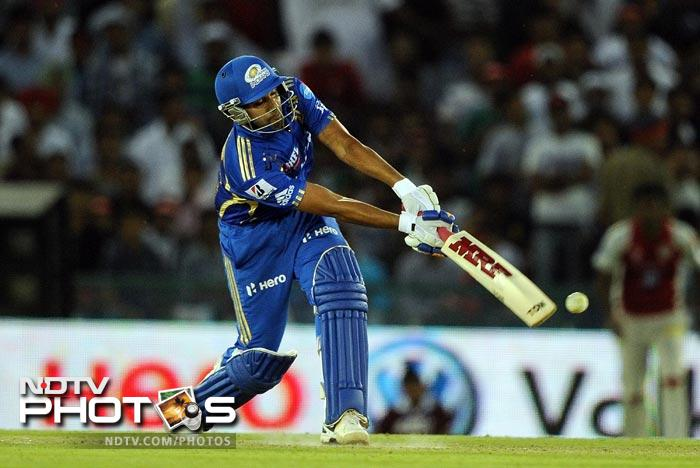 IPL 5: Mumbai beat Punjab by 4 wickets