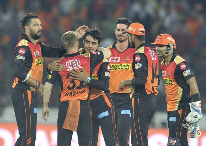 IPL 2017: Dominant Sunrisers Hyderabad Outclass Royal Challengers Bangalore By 35 Runs