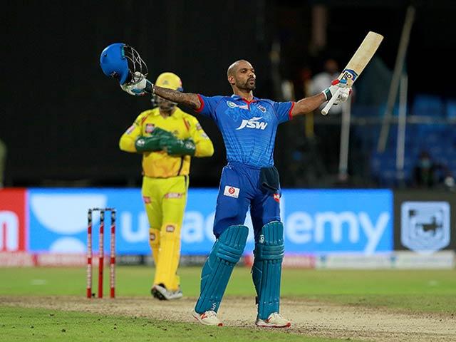 Photo : शिखर धवन का शानदार प्रदर्शन, दिल्ली ने चेन्नई को 5 विकेट से हराया