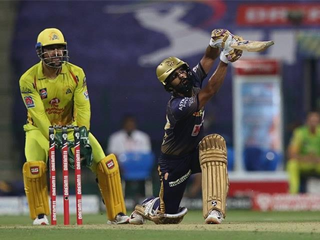 Photo : टी20 लीग: राहुल त्रिपाठी की मदद से कोलकाता ने चेन्नई को 10 रन से हराया