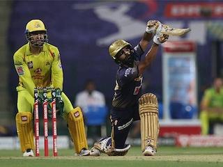 Rahul Tripathi Shines As Kolkata Knight Riders Beat Chennai Super Kings By 10 Runs