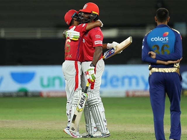 Photo : आईपीएल 2020: दो सुपर ओवर के बाद पंजाब ने मुंबई पर रोमांचक जीत पाई