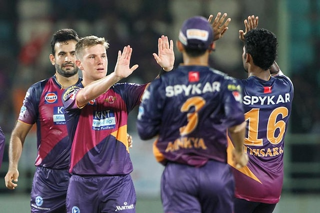 IPL: RPS Achieve 19-Run Win Via D/L Method to Dent DDs Play-Off Chances