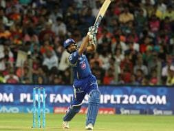 Photo : IPL: Rohit Sharma's Magnificent 85* Helps Mumbai Indians Thrash RPS By Eight Wickets