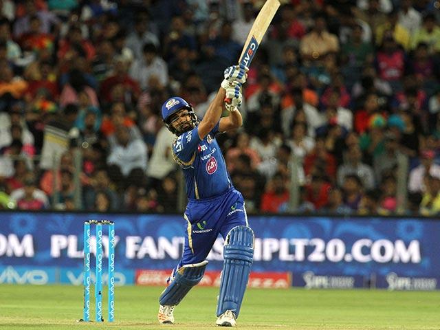 Photo : आईपीएल 9: रोहित की तूफानी पारी के आगे ढेर हुआ पुणे, 8 विकेट से की जीत दर्ज