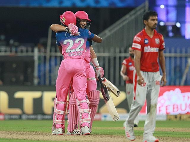 Photo : संजू सैमसन और राहुल तेवतिया की धमाकेदार पारी के दम पर राजस्थान ने पंजाब को 4 विकेट से हऱाया
