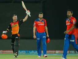 Photo : IPL: David Warner Powers Sunrisers Hyderabad Into Final With Win Over Gujarat Lions