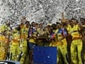 Photo : Chennai win IPL