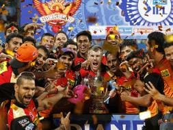Photo : IPL: David Warner's SRH Celebrate in Style After Clinching Title