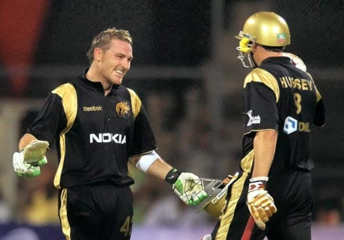 1st Match: Knight Riders vs Royal Challengers