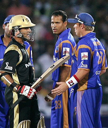 18th Match: Rajasthan Royals vs Knight Riders