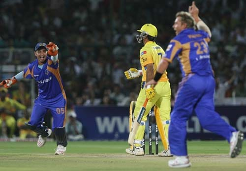 24th Match: Rajasthan Royals vs Super Kings