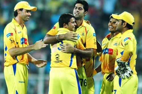26th Match: Chennai Super Kings vs Hyderabad Deccan Chargers