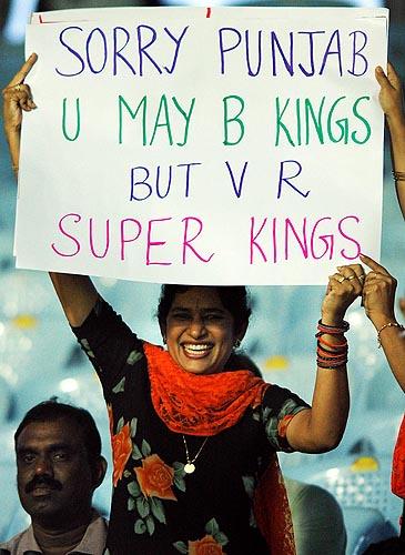31st Match: Chennai Super Kings vs Kings XI Punjab