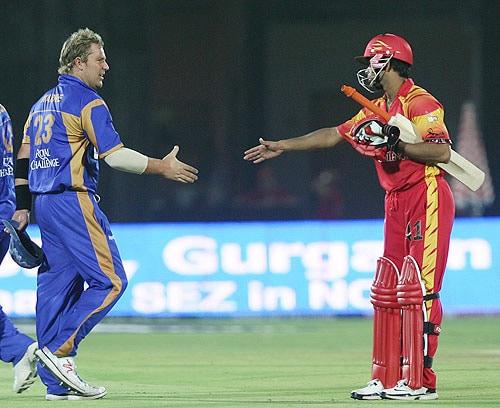 39th Match: Rajasthan Royals vs Bangalore Royal Challengers