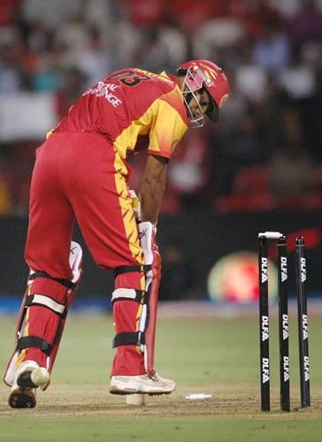 43rd Match: Bangalore Royal Challengers vs Delhi Daredevils