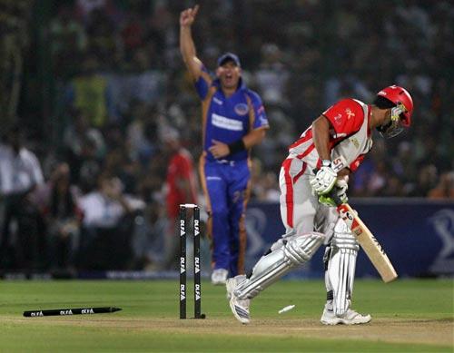 6th Match: Rajasthan Royals vs Kings XI Punjab