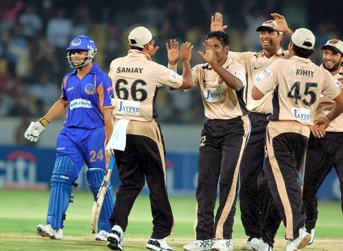 Match 9: Deccan Chargers vs Rajasthan Royals