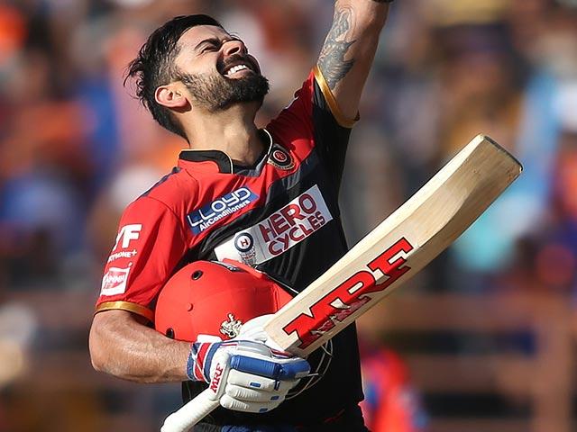 Photo : शतक के बावजूद अपनी टीम बैंगलोर को जीत नहीं दिला सके कप्तान कोहली