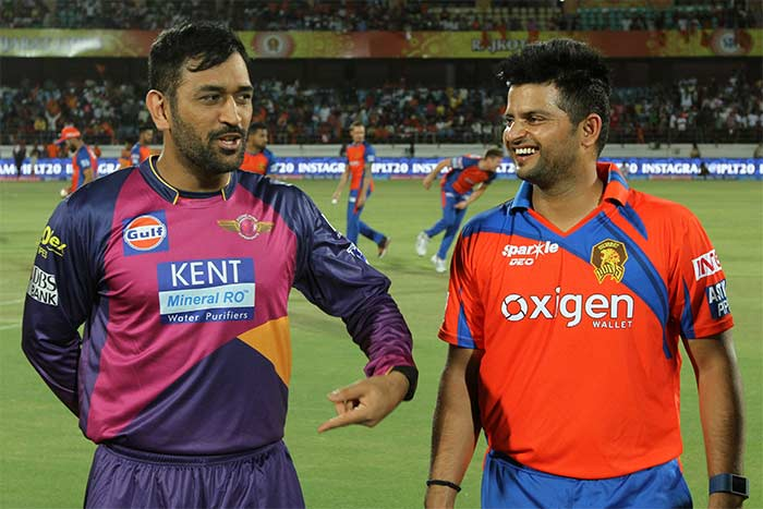 IPL: Suresh Raina's Lions Too Good For MS Dhoni's Giants ...
