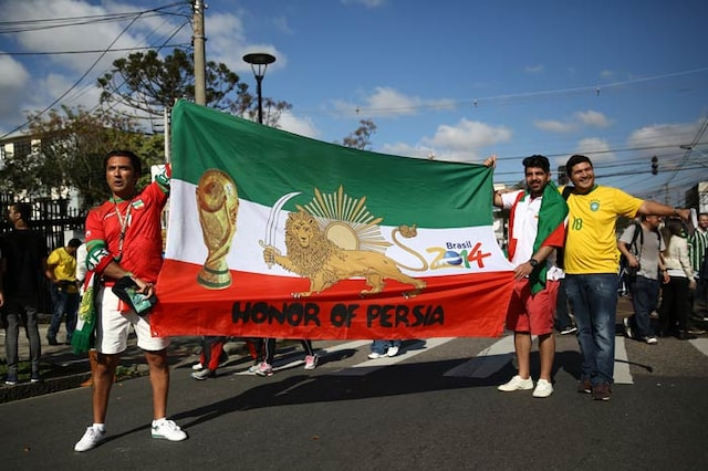 FIFA World Cup: Iranian Fans Spread Love in Brazil