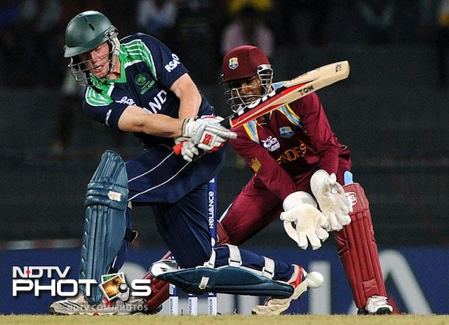 World T20: Rain wins, West Indies through to super eights; Ireland out