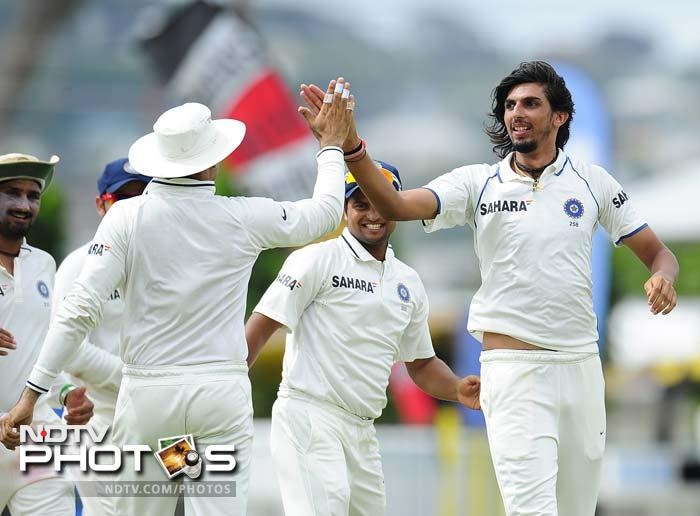 Ishant scalps 100 Test wickets