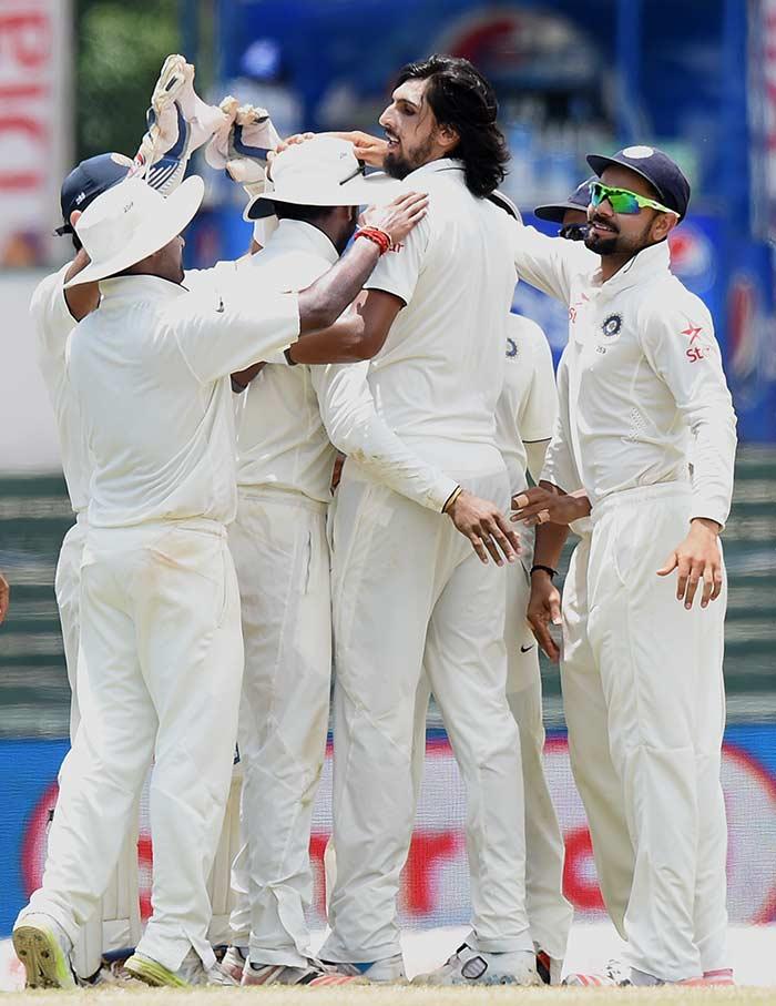 कोलंबो टेस्ट में ईशांत का कमाल, 7वीं बार लिए पांच विकेट